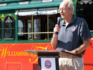 Vice Mayor Haulman Welcomes the Area's Newest Form of Alternative Transportation